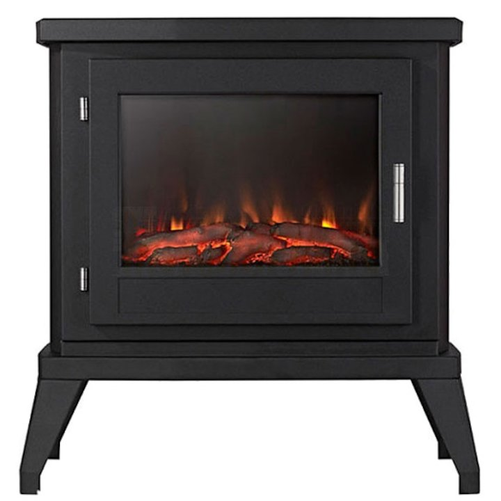 Ekofires 1350 Electric Stove - Black