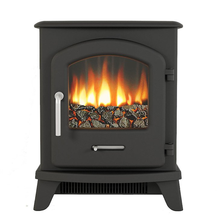 Broseley Serrano 3 Electric Stove - Black