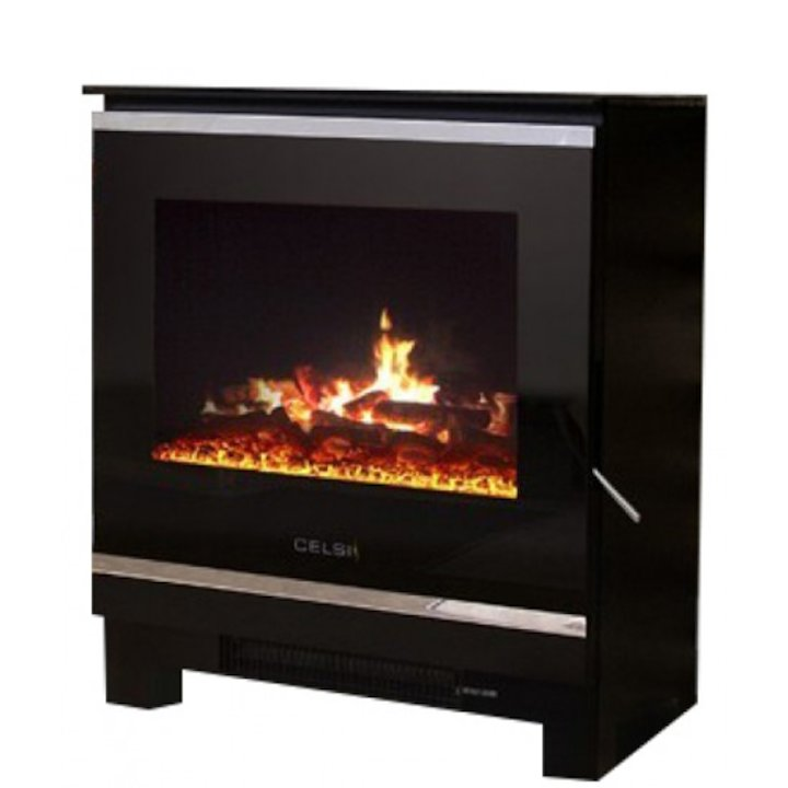 Celsi Purastove 2 Electric Stove - Black