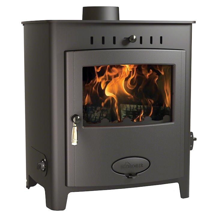 Arada Ecoboiler 20 HE Multifuel Boiler Stove - Midnight Black