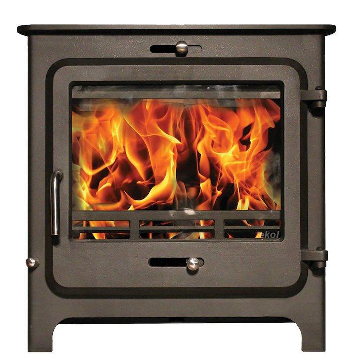 Ekol Clarity 20 Multifuel Boiler Stove - Black