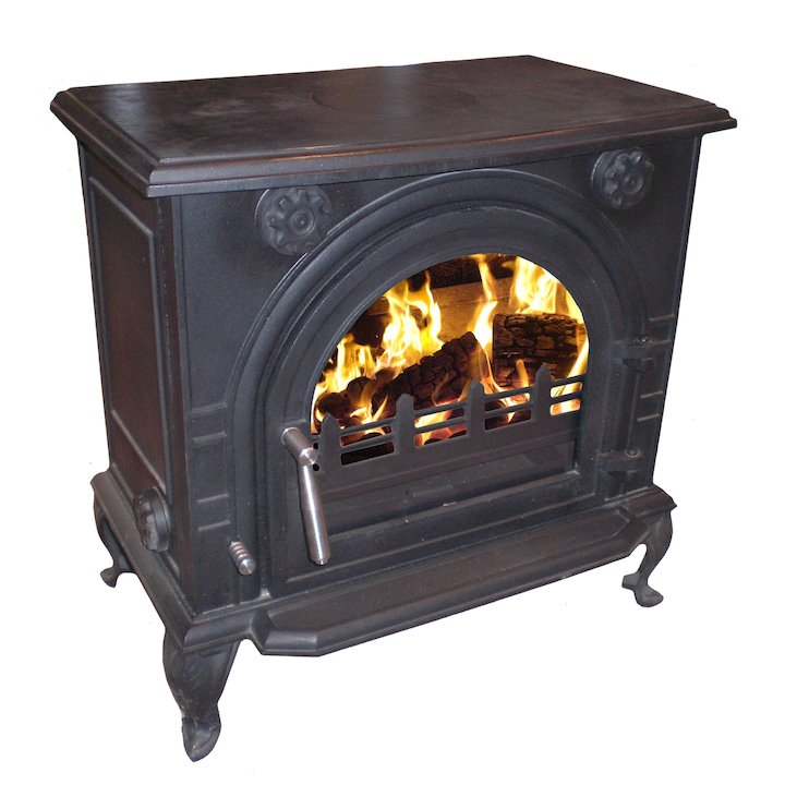 Eva Kimberley 17B Multifuel Boiler Stove - Clearance - Black