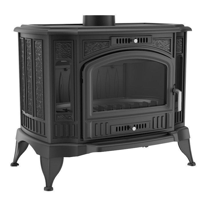 Kratki Koza K9 Multifuel Boiler Stove - Black