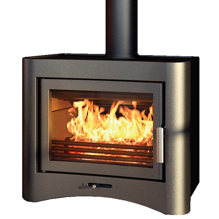 Broseley Evolution 26 Wood Boiler Stove - Black
