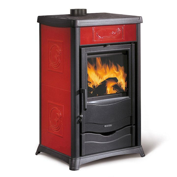 La Nordica Thermo Rosella Plus DSA Wood Boiler Stove - Bordeaux