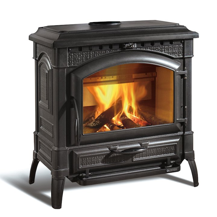 La Nordica Thermo Isotta DSA Wood Boiler Stove - Black