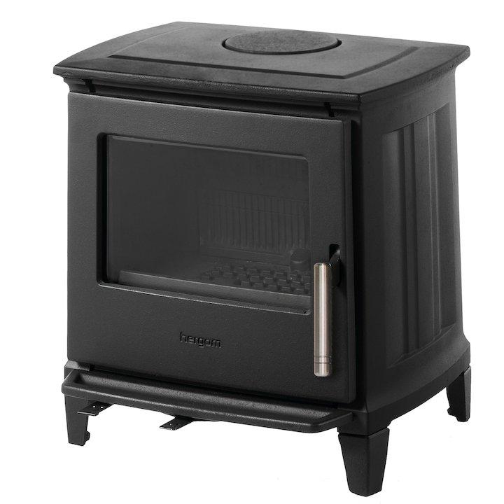 Hergom E30 Extra Small SL Wood Stove - Black