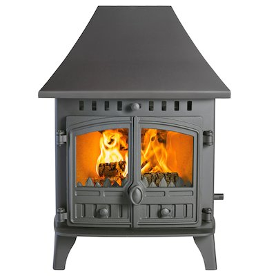 Hunter Herald 6 Double Sided HC Wood Stove