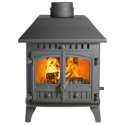Hunter Herald 6 Double Sided LC Wood Stove - Double Depth