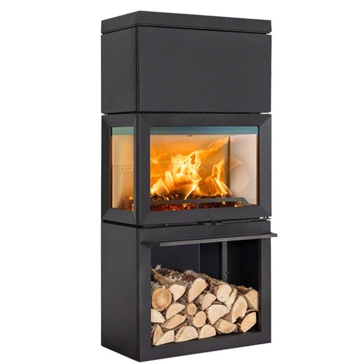 Jotul F520 High Top Wood Stove - Black