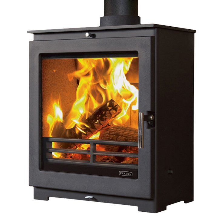 Flavel Arundel XL Multifuel Stove - Black