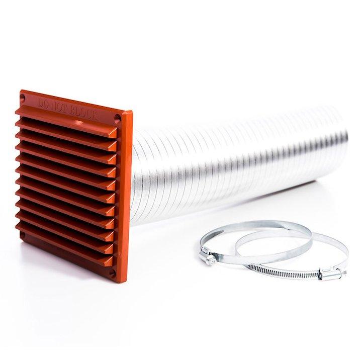 Rytons 80mm Direct Air Supply Kit - Terracotta