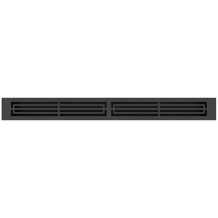 Rais 76 Convection Air Grill - Groove Effect - Black