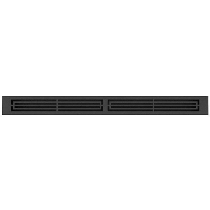 Rais 100 Convection Air Grill - Groove Effect - Black