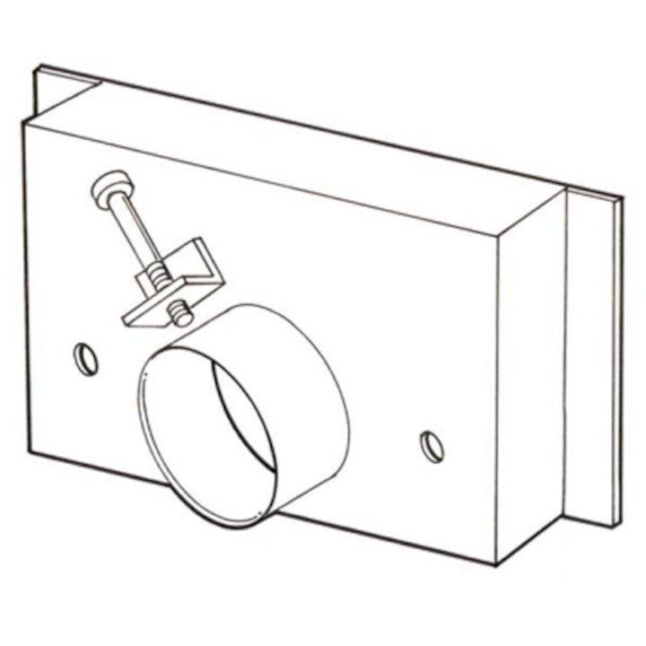 Burley Room Seal Kit for External Air - Black