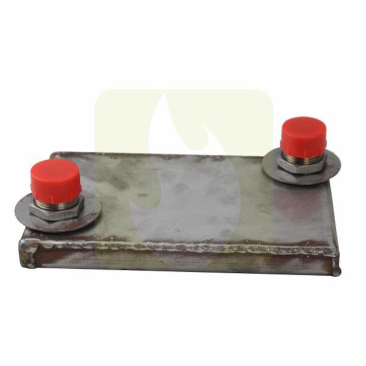 Arada AIB7 Clip In Back Boiler - Silver