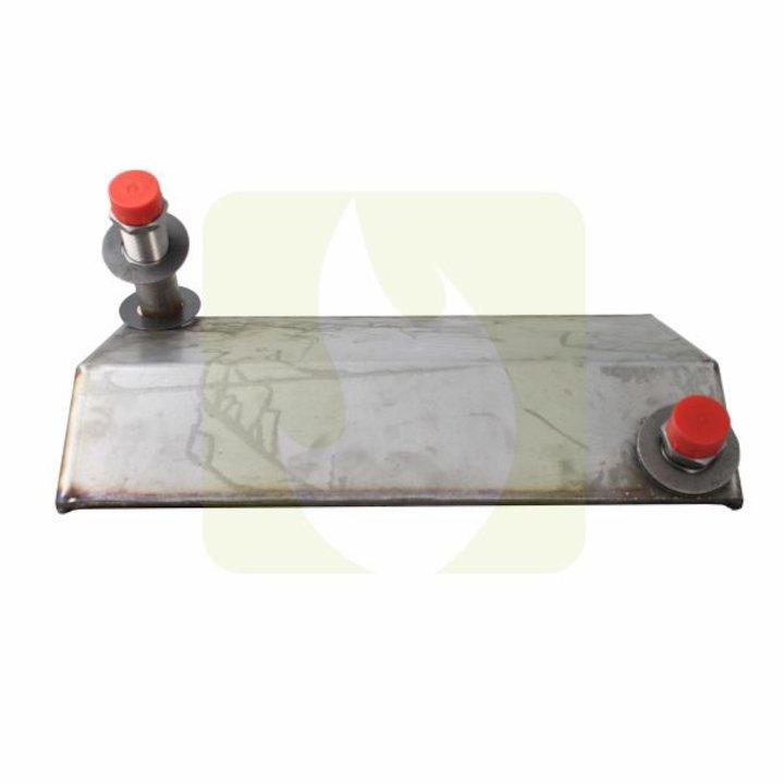 Arada AIBV009 Clip In Back Boiler - Silver