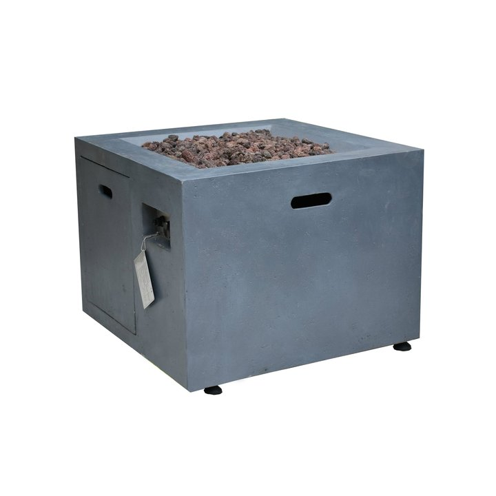 Altair Concrete LPG Gas Firepit - Grey