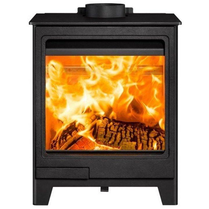 Herald Allure 5 Wood Burning Stove - Black