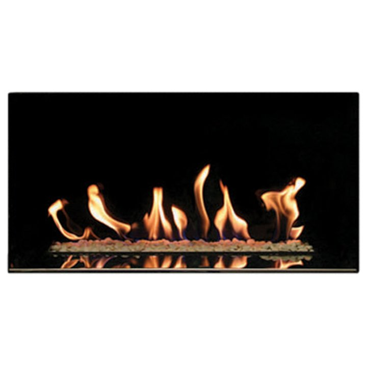 Gazco Studio 1 Conventional Flue Open Gas Fire - Black