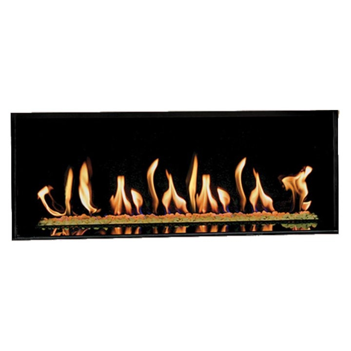 Gazco Studio 2 Conventional Flue Open Gas Fire - Black