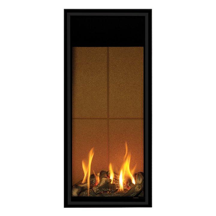 Gazco Studio 22 Balanced Flue Gas Fire - Black
