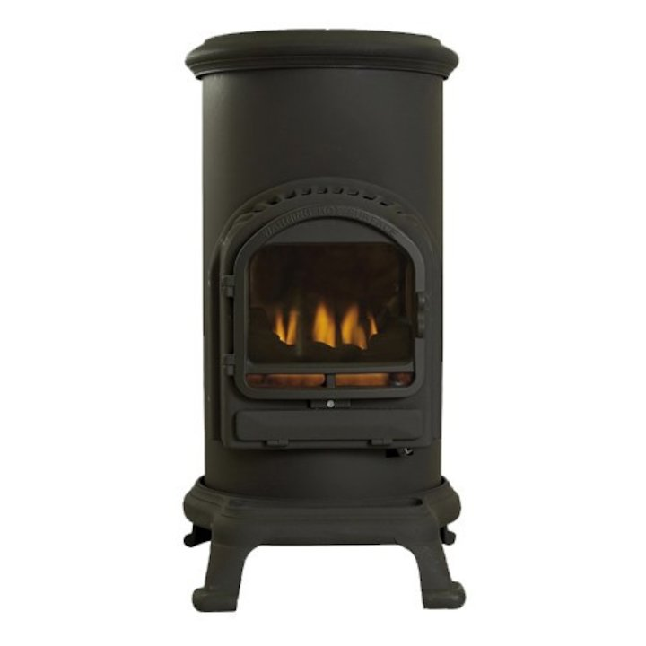 Flavel Thurcroft Flueless Portable Gas Fire - Black