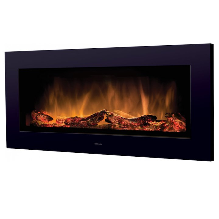 Dimplex SP16 Optiflame Wall Mounted Electric Fire - Black