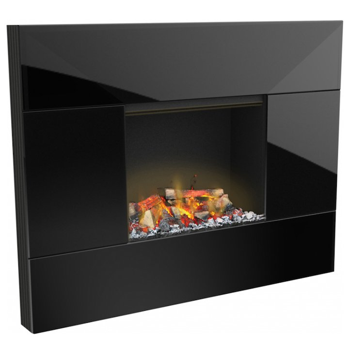 Dimplex Tahoe Optimyst Wall Mounted Electric Fire - Black