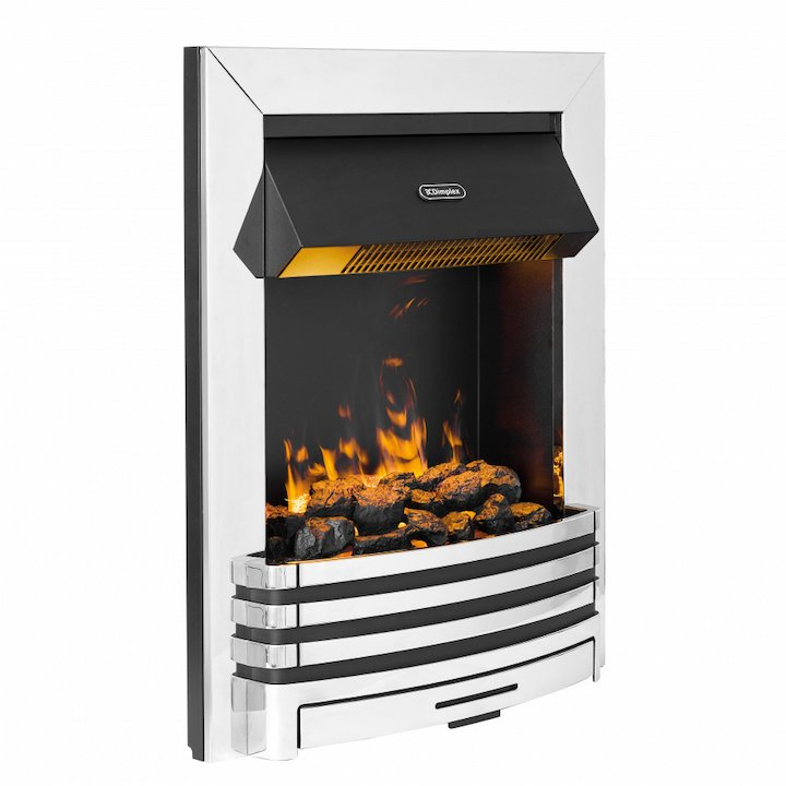 Dimplex Pengrove Optimyst Electric Fire - Chrome