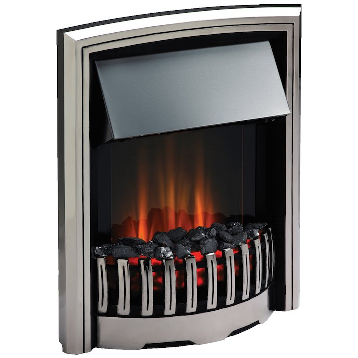 Dimplex Rockport Optiflame Electric Fire - Chrome