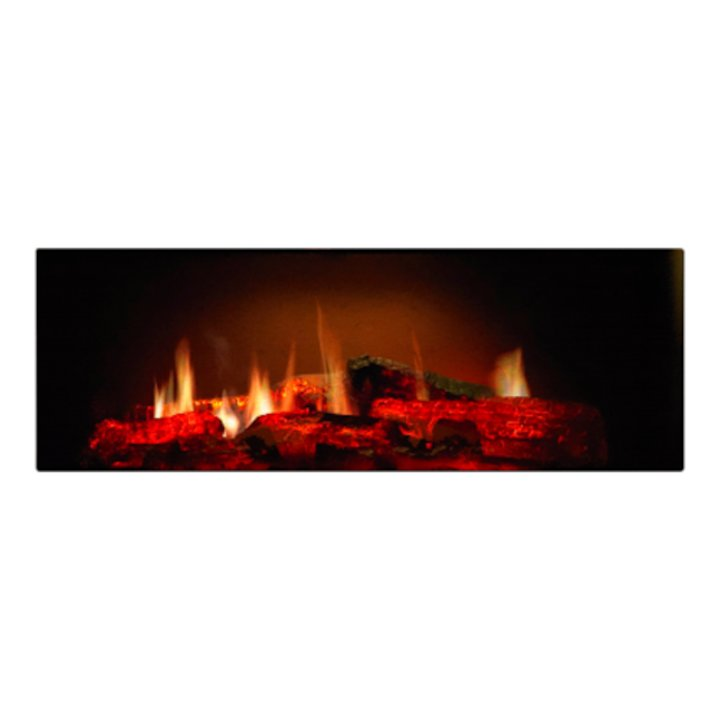 Dimplex Opti-V PGF10 Built-In Electric Fire - Black