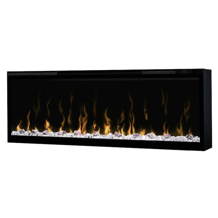 Dimplex Ignite XL 50 Built-In Electric Fire - Frontal - Black