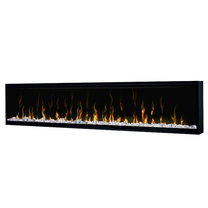 Dimplex Ignite XL 74 Built-In Electric Fire - Frontal - Black