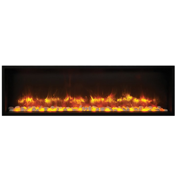 Gazco Radiance 135R Built-In Electric Fire - Black