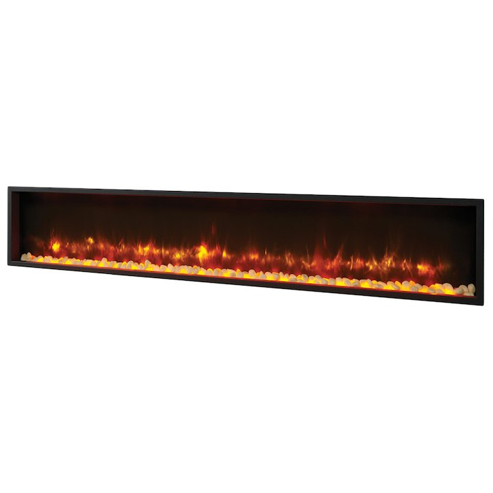 Gazco Radiance 195R Built-In Electric Fire - Black