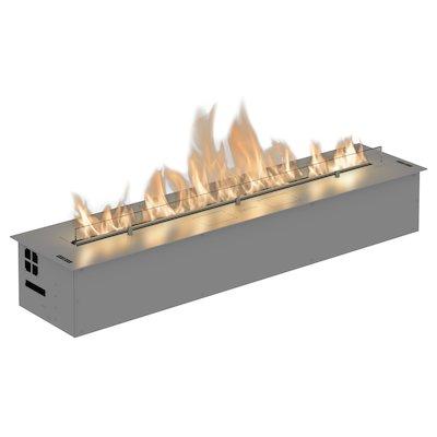 Planika Fireline FLA3/1190 Bio-Ethanol Drop-In Fire Stainless Steel Standard