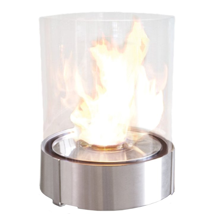Planika Simple Commerce Outdoor Bio-Ethanol Fire - Stainless Steel