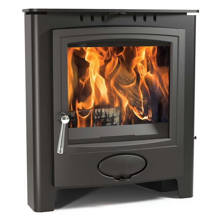 Arada Ecoburn Plus 5i Multifuel Inset Stove - Midnight Black