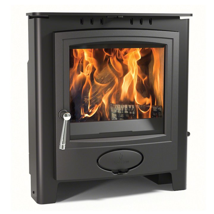 Arada Ecoburn Plus 7i Multifuel Inset Stove - Midnight Black