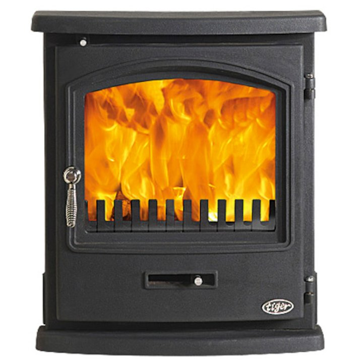 Gallery Tiger Multifuel Inset Stove - Black
