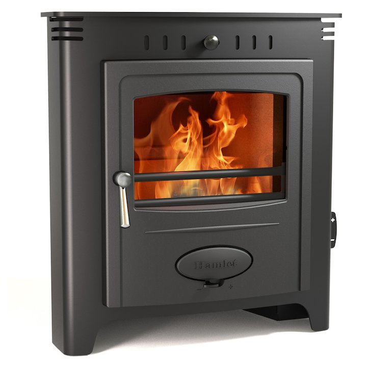 Hamlet Solution 5 Multifuel Inset Stove - Black