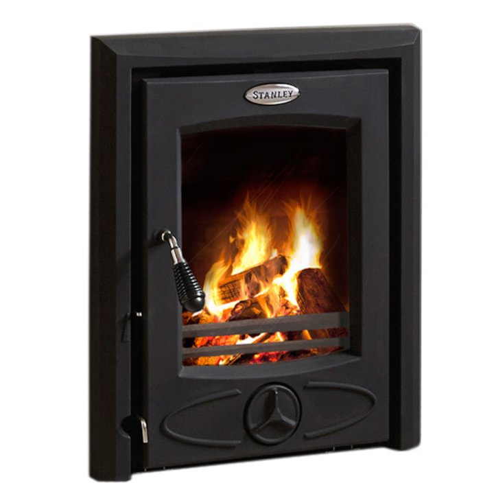 Stanley Cara Multifuel Inset Stove - Black