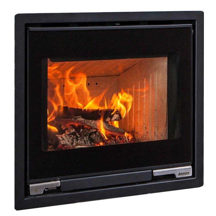 Aduro 5-1 Wood Cassette Fire - Black