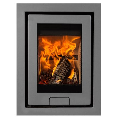 Di Lusso R4 Wood Cassette Fire Silver Four Sided Frame