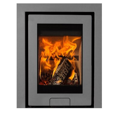 Di Lusso R4 Wood Cassette Fire Silver Three Sided Frame