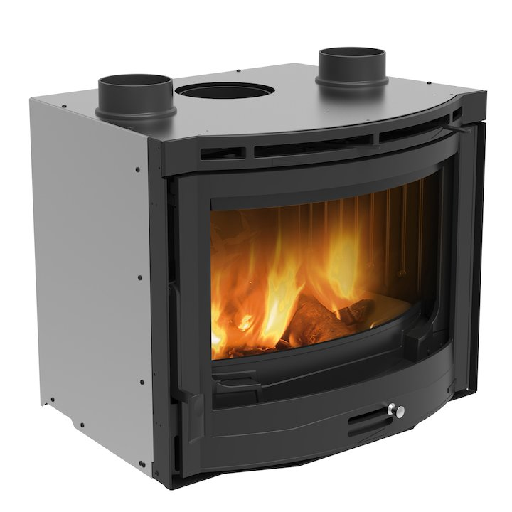 La Nordica Tondo 70 Wood Cassette Fire - Black
