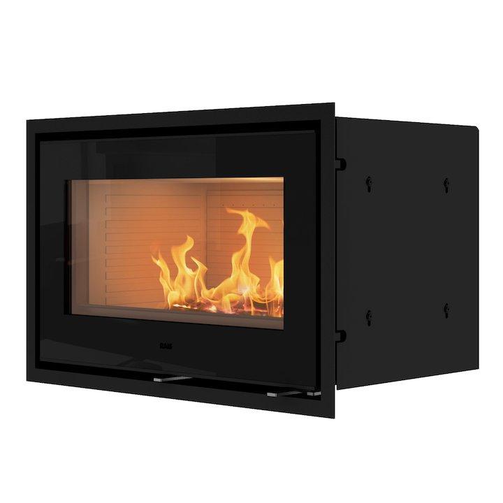 Rais 500/1 Wood Cassette Fire - Black Glass