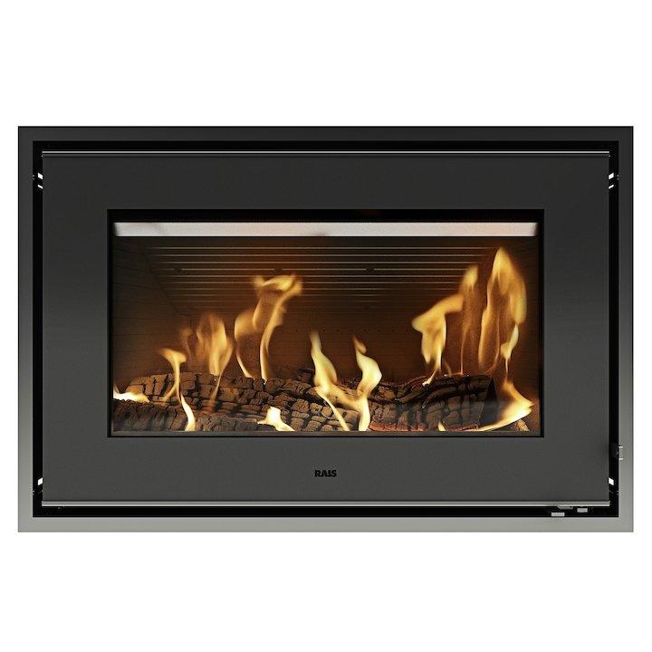 Rais 700 Wood Cassette Fire - Black
