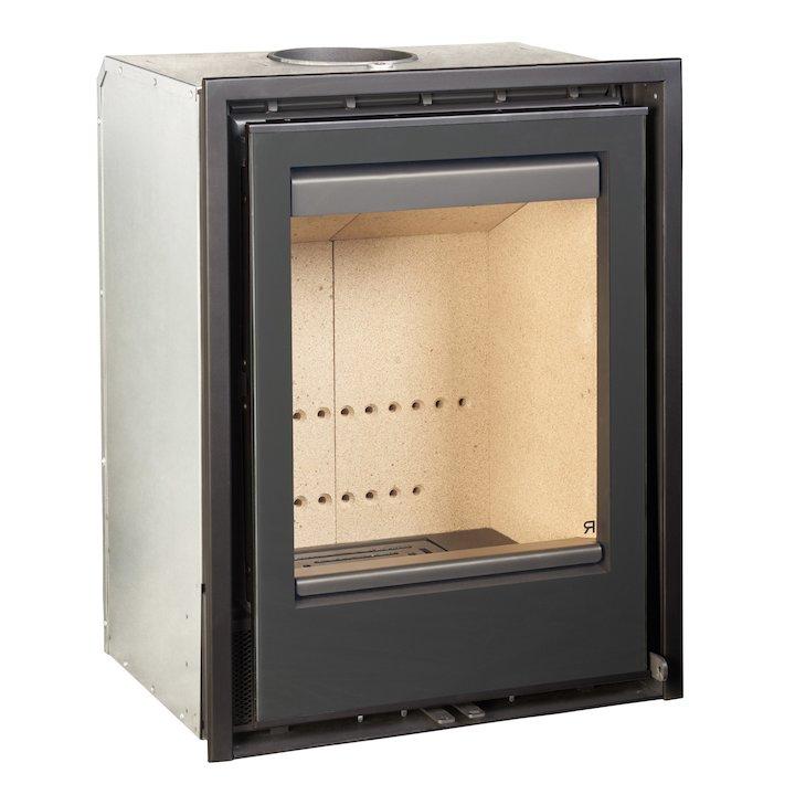 Rocal ARC 50v Wood Cassette Fire - Black Glass